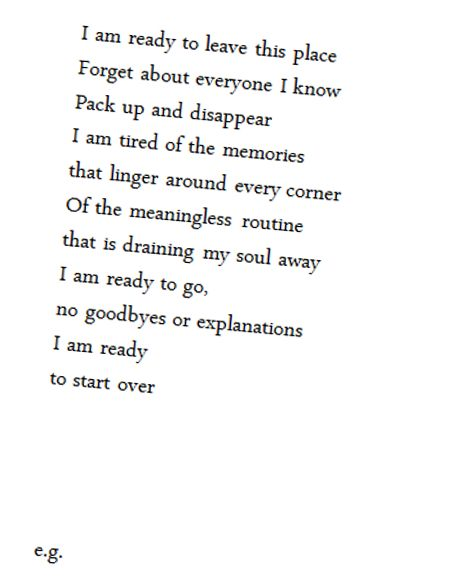 soulmate quotes i am ready to leave this place forget about